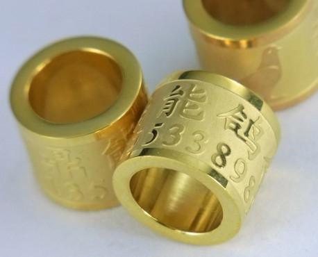 2012 最新皇家品质真空镀金环