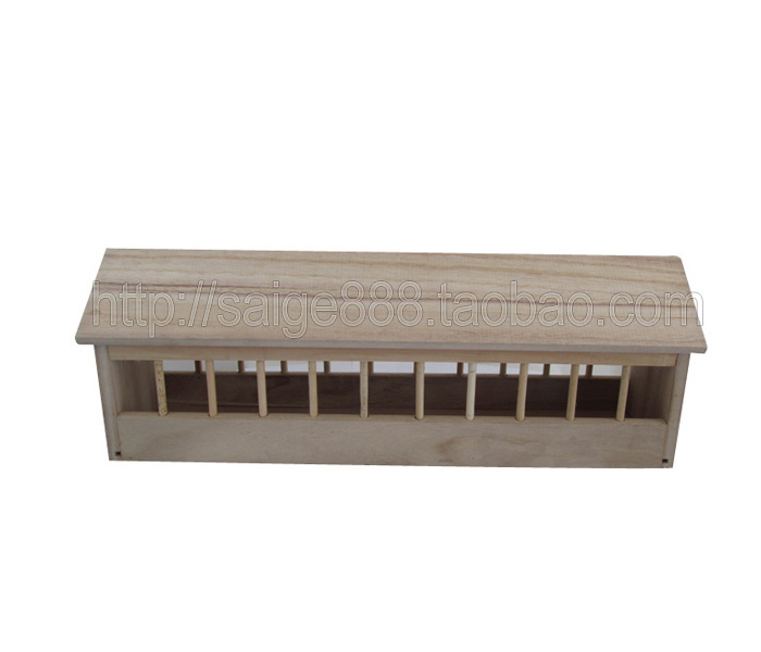 鸽具/信鸽用品/信鸽食槽/信鸽专用木制食槽40公分-100