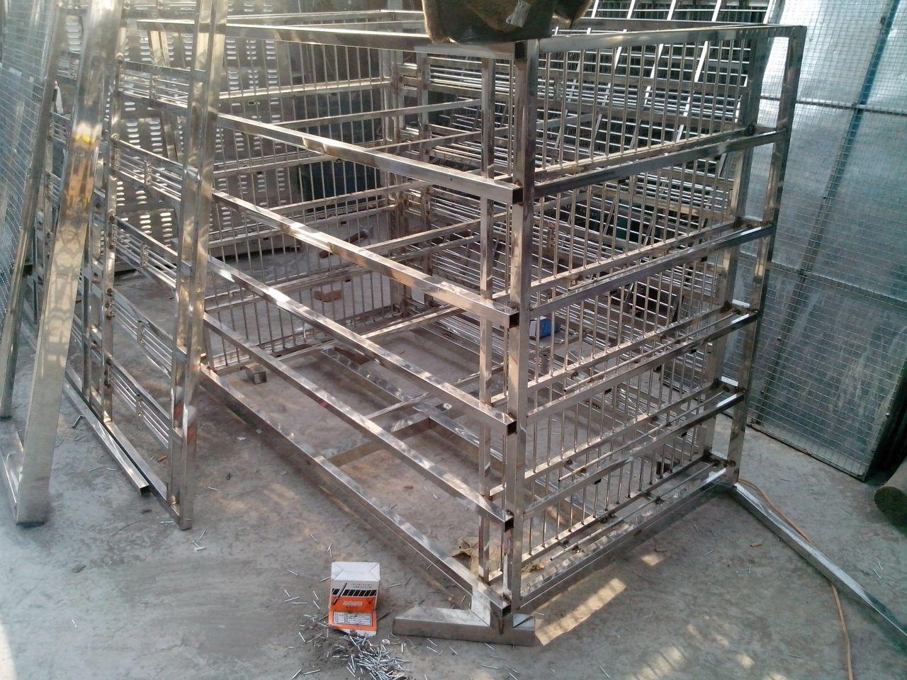 不锈钢鸽笼