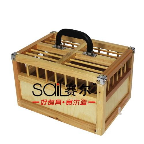 木制方笼产品展示--中信网鸽业大全