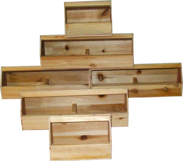 实木小食槽