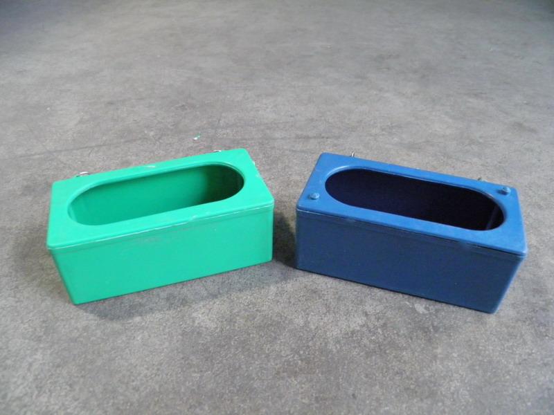 原颗粒塑料挂盒(绿 蓝)