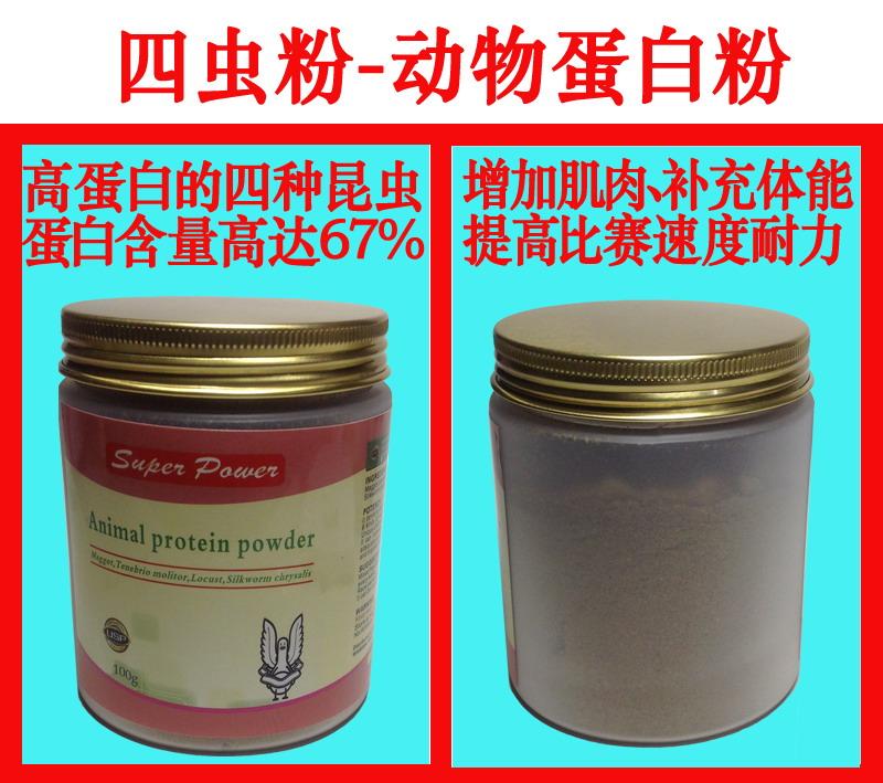 四虫粉(动物蛋白)--增加肌肉、补充体能、提高爆发力