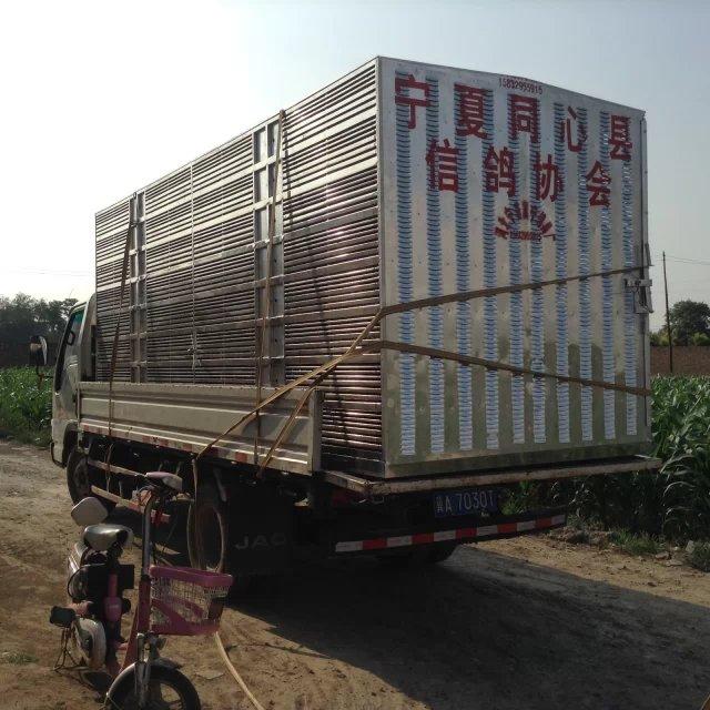 宁夏5000羽整体分解式赛鸽集装箱