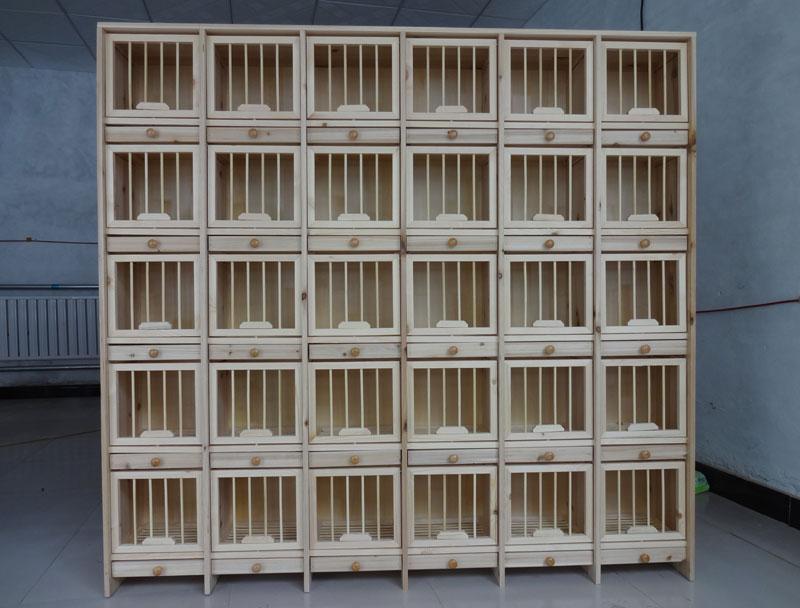 赛鸽组合巢箱 (带门 可定做)