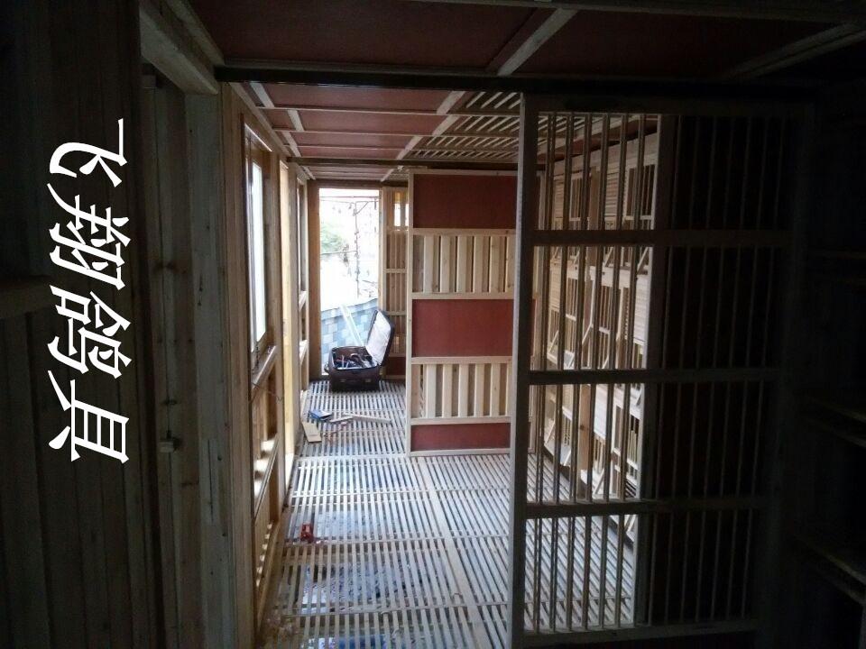门窗加工店内部