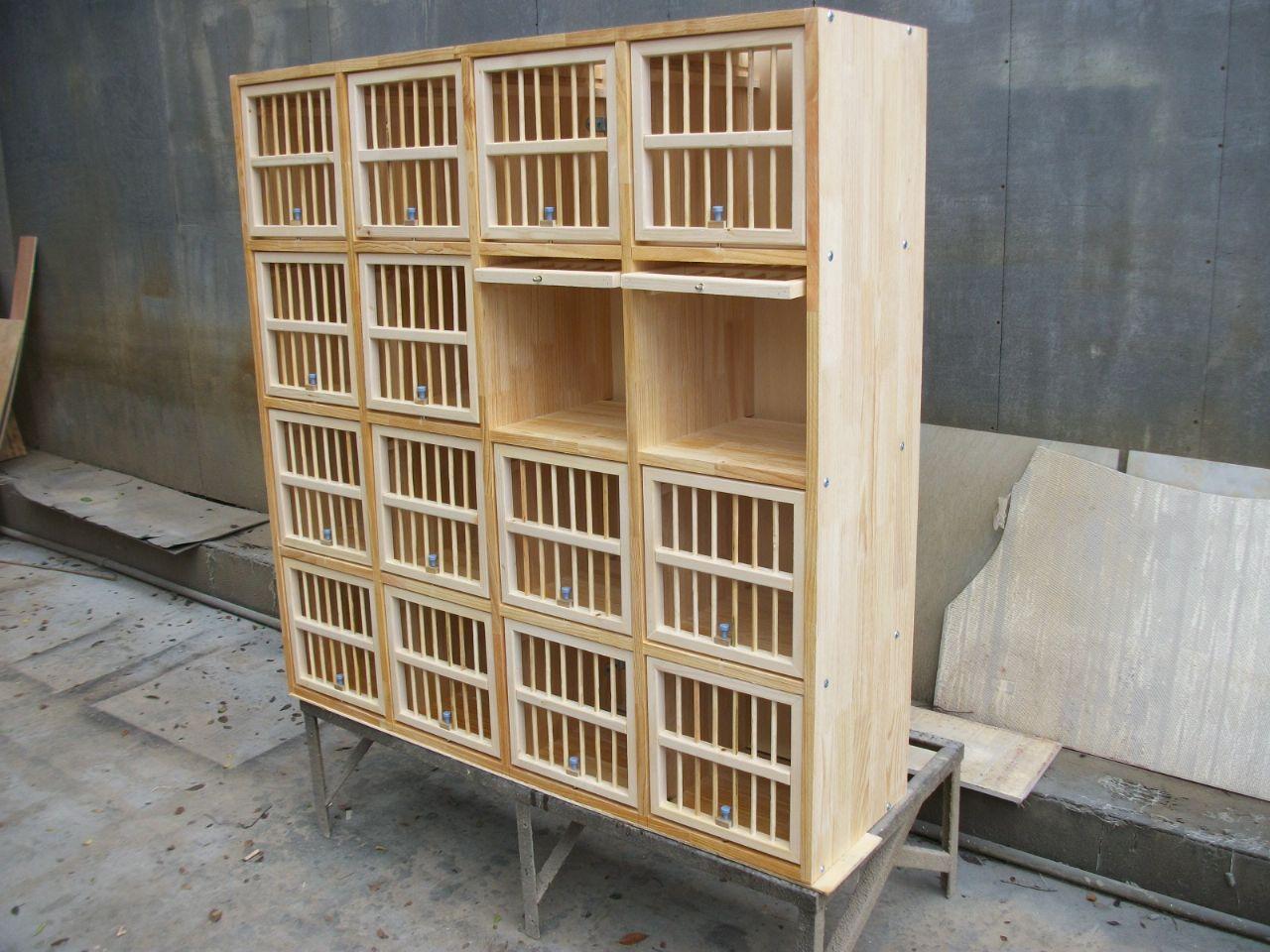 赛鸽组合巢箱
