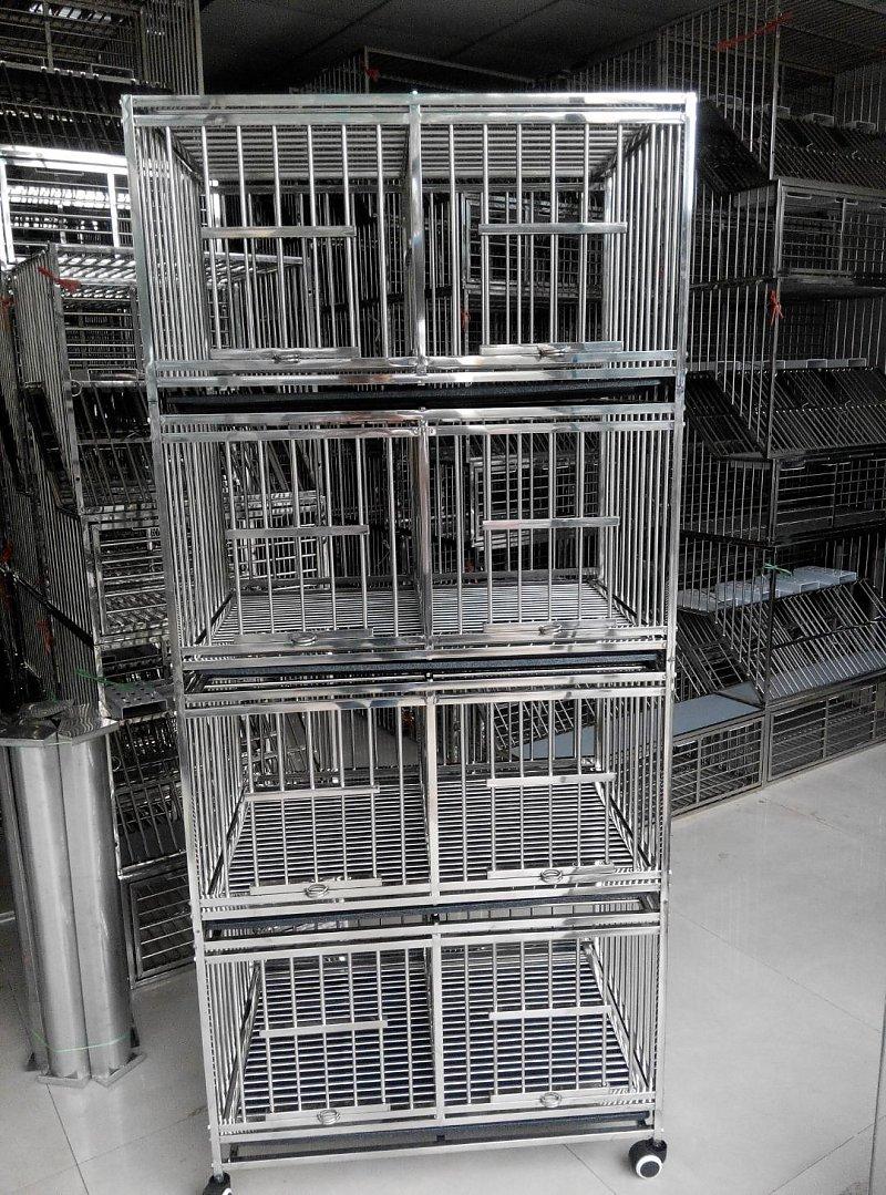 不锈钢四层配对笼