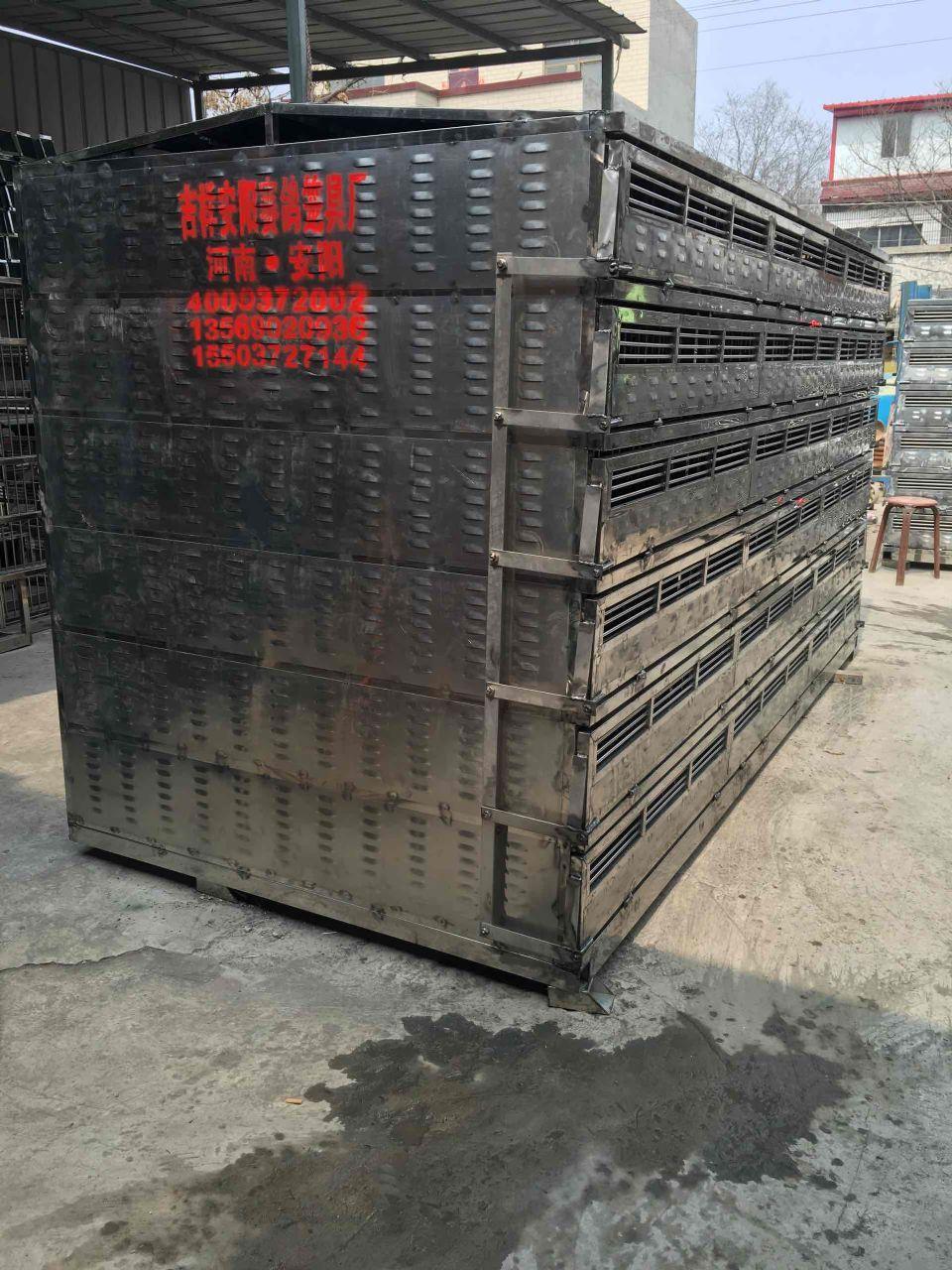 四川成都定制不锈钢鸽笼