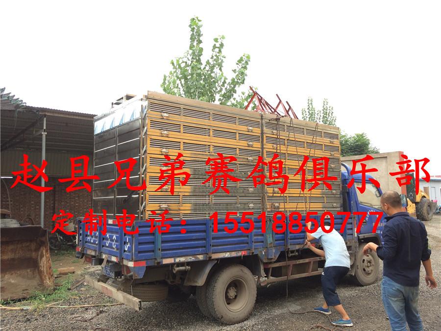 赵县兄弟赛鸽定制不锈钢/鸽笼/放飞笼/赛鸽集装箱/