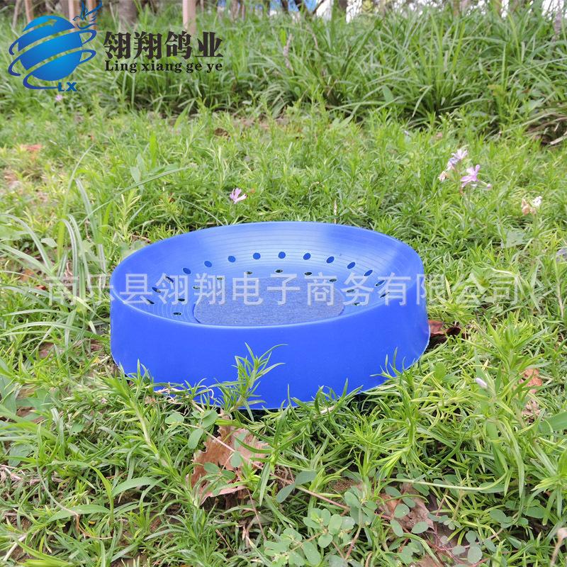 信鸽用品用具鸽子窝透气塑料巢信鸽用具优质鸟窝