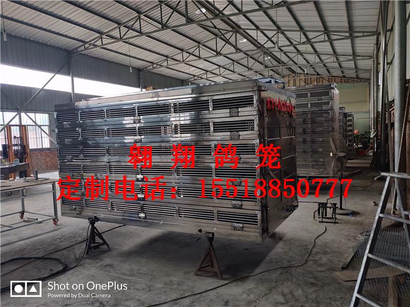 济南市平阴县定制鸽笼放飞笼赛鸽集装箱