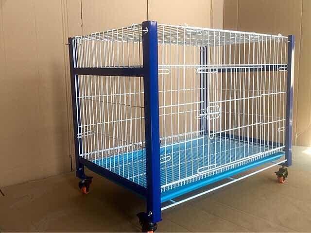 鸽子笼台式繁殖宠物笼兔笼加粗信鸽配对笼鸡笼展示笼一层促销包邮