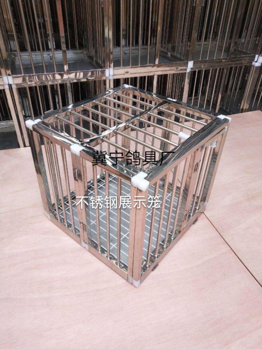鸽具-信鸽用品-展示笼-折叠展示笼-
