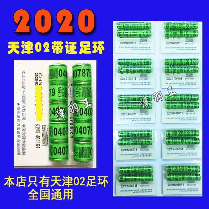 津羽王 2020天津02带证足环真环