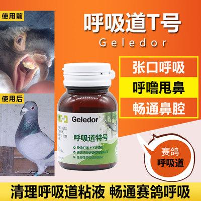 格莱德鸽药【呼吸道特号】清理呼吸道有害粘液100片/瓶