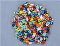 塑料识别环