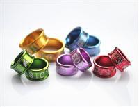 高品质卷边铝环,私人环定做,款式新颖