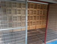 北京喜翔赛鸽中心定做<组合配对笼>室内安装效果图