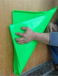 托盘角对角折叠不会破