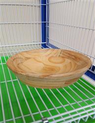 原生态实木巢盆