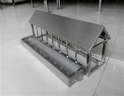 不锈钢小房子食槽