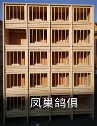 带门赛鸽实木巢箱