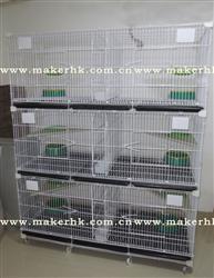 三层复式配对鸽笼