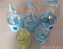 高档透明饮水器鸽子喝水用具水壶信鸽用品用具规格有2L