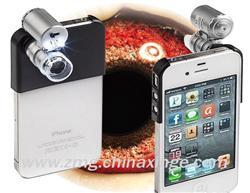 苹果手机(5和5S,4和4S专用)摄像拍照鸽眼放大镜(60倍)天下鸽药