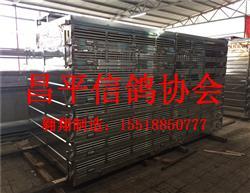 北京昌平信鸽协会不锈钢/鸽笼/放飞笼/赛鸽集装箱/
