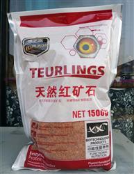 天然红矿石1500克/袋(3斤重)惠多赢营养保健类鸽药