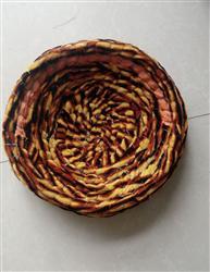 包棉布巢盆
