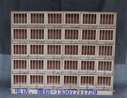 实木组合巢箱 带门巢箱 信鸽调节笼 组合调节笼 赛鸽站架