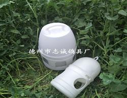 赛鸽饮水器 1升纯白水壶