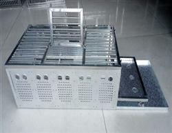 信鸽折叠放飞笼跳笼展示笼赛鸽铝质不锈钢训放笼