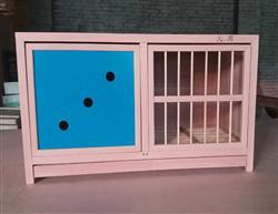 赛鸽专用彩板单暗门巢箱