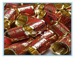订做精铜珐琅彩镀金种鸽品系鸽子脚环