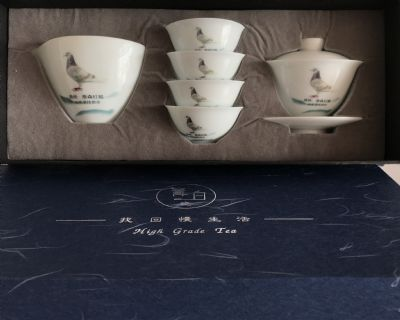 陶瓷�o念�P天意陶私人�制景德�陶瓷茶具