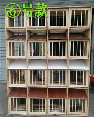 包邮实木组合巢箱6号多格赛鸽鸽笼鸽舍赛鸽