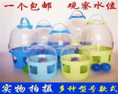 饮水器水壶鸽子用水槽 透明饮水器 鸽子饮水器