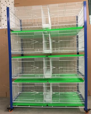 鸽鸟笼繁殖笼巢箱台式笼台湾赛升信鸽配对笼