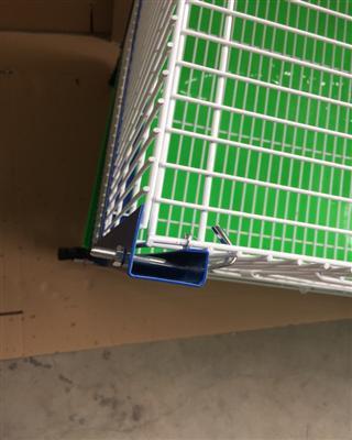 宠物笼鸽鸟笼繁殖笼巢箱台式笼台湾赛升信鸽配对笼展示笼二层包邮