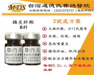 迈德氏肠炎针剂(B针)