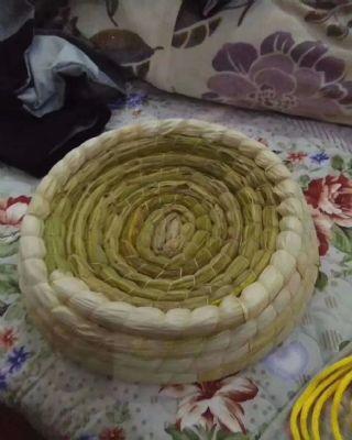 帽子型玉米皮