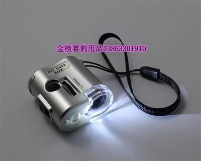 带LED灯60倍相机式鸽眼放大镜
