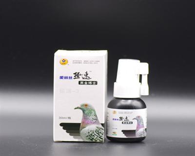 极速黑金博士30ml水剂提鸽子免疫力