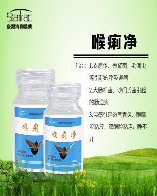 喉痢净 呼吸道鸽药 台湾海翔赛鸽保健中心
