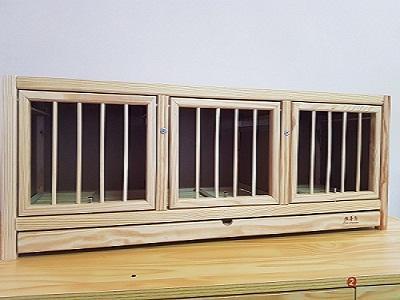 赛鸽专用三格巢箱