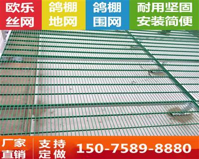 鸽舍专用包塑鸽棚地网不生锈公棚地网鸽舍地网漏空地网漏粪板